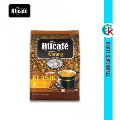 Alicafe Warung Classic 3-in-1 20g x 20 sachets