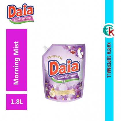 Daia Fabric Softener Morning Mist 1.8L Pouch