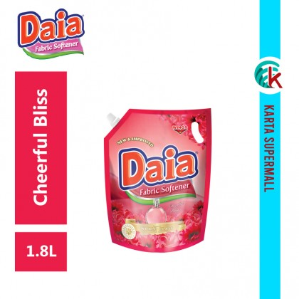 Daia Fabric Softener Cheerful Bliss 1.8L Pouch